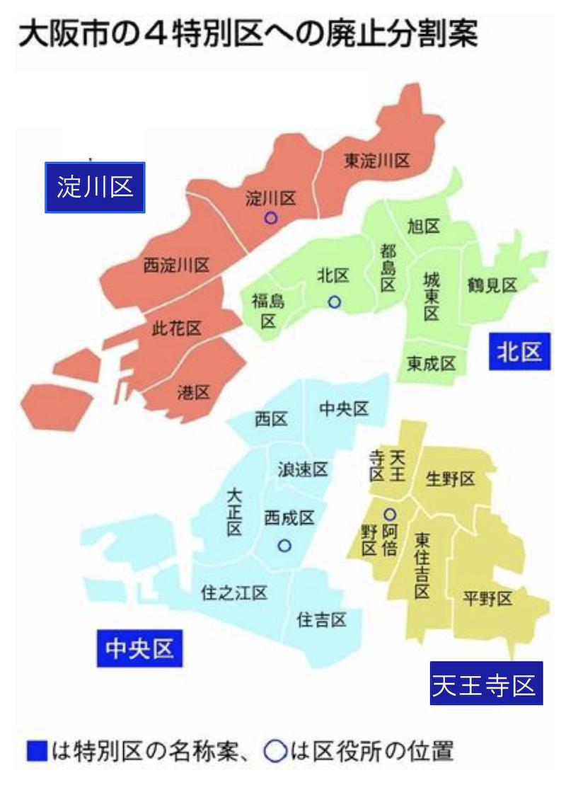 堺 大阪 都 市 構想